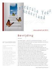 Bevrijding - Integrale Yoga Nederland