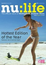 Hottest Edition of the Year - Northumbria Students Union ...