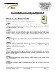 Huishoudelijk reglement sportraad - Staden