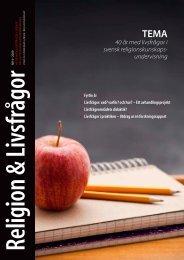 Nr. 4 - Föreningen Lärare i Religionskunskap