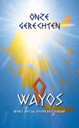 ONZE GERECHTEN - OWayos