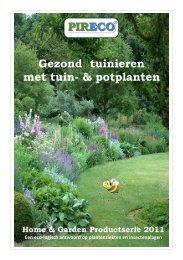 Productfolder Home & Garden [PDF 536 KB] - Pireco