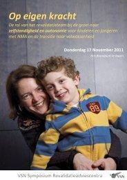 Op eigen kracht - VSN Hulpverleners - Vereniging Spierziekten ...