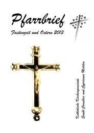 Osterpfarrbrief 2013 - Kath. Kirche Metelen