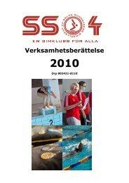 Solna Simsällskaps verksamhetsberättelse 2001 - SS04