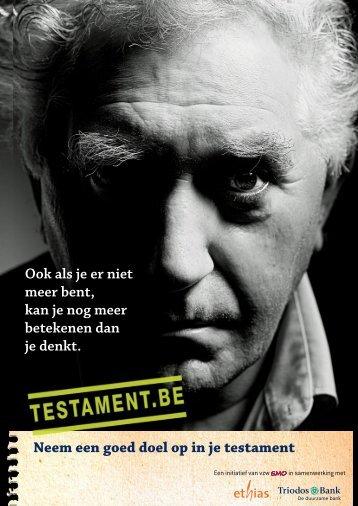 Testament.be dossier