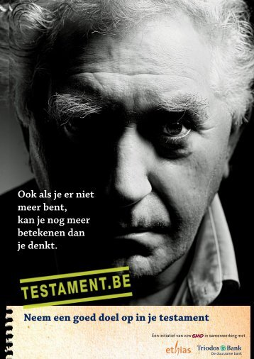 Testament.be dossier