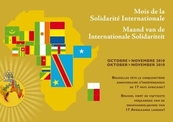 Mois de la Solidarité Internationale Maand van de Internationale ...
