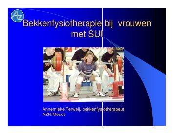 bekken-fysiotherapie vrouwen