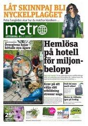 Metro 20120516 Projekt - Social Frihet