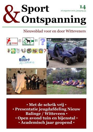 Ontspanning - Dorp Witteveen