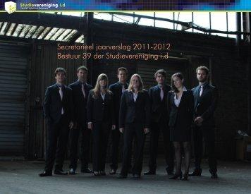 Secretarieel jaarverslag 2011-2012 Bestuur 39 der ...