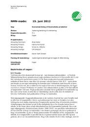 NMN-møde: 15. juni 2012