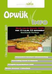 Infoblad oktober 2009 - Opwijk
