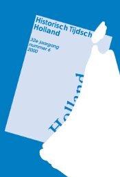 Archeologische kroniek - Historische Vereniging Holland