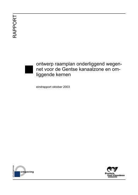 Integrale tekst raamplan onderliggend wegennet - project Gentse ...