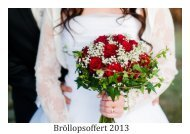 Bröllopsfotografering - Fotograf Jennifer Karlberg