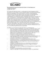 Beroepstypering Commercieel medewerker bank- en ... - Ecabo