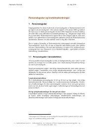 Danmarks Statistik: Personalegoder og bruttolønsordninger, 2010