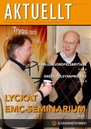 Aktuellt nummer 1/2010 - Elsäkerhetsverket