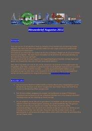 Nieuwsbrief Augustus 2011 - Rotterdam Chapter