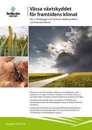 Vässa växtskyddet för framtidens klimat - bild - Jordbruksverket