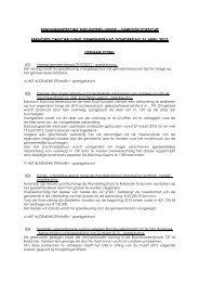 Verslag gemeenteraad 26 april 2012 - Gemeente Sint-Pieters-Leeuw