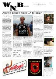 Anette Bonde siger JA til Brian - Sydvestjyllands Efterskole
