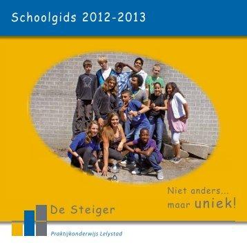 Schoolgids - De Steiger