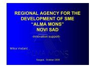 regional agency for the development of sme - Reevolutio