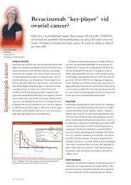 ASCO-rapporten 2012 Karin Boman - äggstockscancer och ...