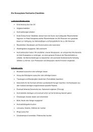 Die Scesaplana Hochzeits-Checkliste