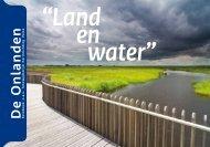 Fotoboek Land en Water - herinrichting Peize