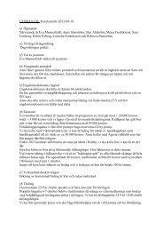 Utdrag ur styrelseprotokoll 2012-09-18 - Ridklubben Rimbo Ryttare