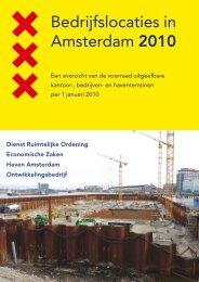 Bedrijfslocaties in Amsterdam 2010