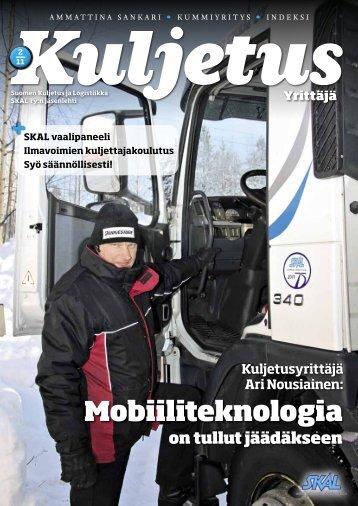 Lehden sisältöä 2/2011 (pdf) - SKAL