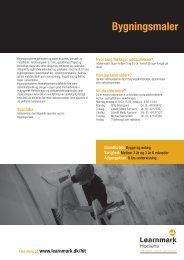 Bygningsmaler (pdf) - Learnmark Horsens