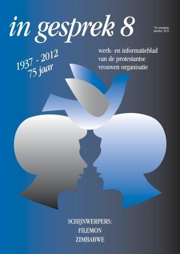 Oktober 2012 - Protestantse Vrouwen Organisatie