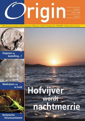 Origin nr. 1 oktober 2005