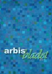 Nummer 4 / 10–11 - Arbis
