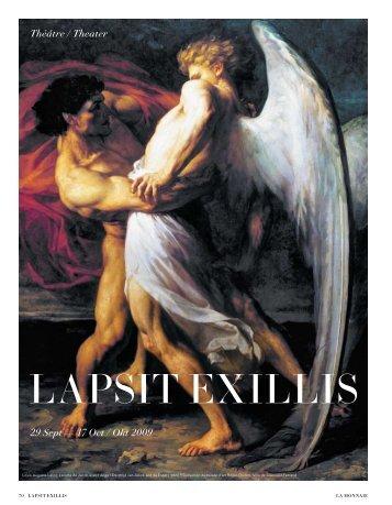 Lapsit ExiLLis - Lucilia Caesar