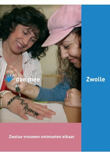 Doe Mee in Zwolle - tryntsje dijkstra • tekst & redactie