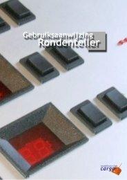 Gebruiksaanwijzing Rondenteller - Modelbouwclub Cargo