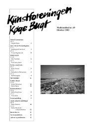 Nr 69 - oktober 2003 - Kunstforeningen Køge Bugt