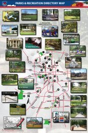 Parks Map - City of Tyler - Parks and Recreation > Home