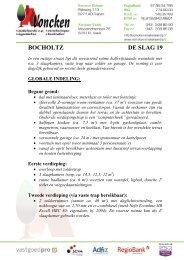 BOCHOLTZ DE SLAG 19 - Voncken Makelaardij