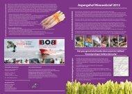Aspergehof Nieuwsbrief 2012 - Land van Wijk en Wouden