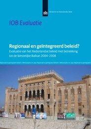 iob---evaluatie-van-het-nederlandse-beleid-m.b.t.-de-westelijke ...