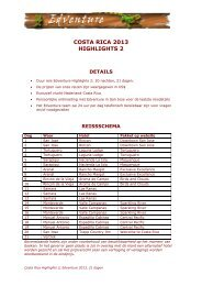 Highlights 21 dagen - Edventure