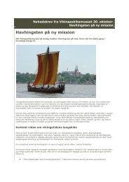 Havhingsten på ny mission